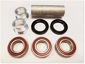 Haan Wheels Rex Complete Spare Parts Kit Rear