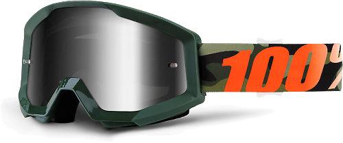 100% Strata Huntsitan - Mirror Silver Lens