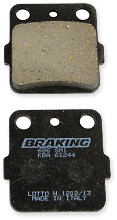 Braking Brakepads Semisenter Front/Rear