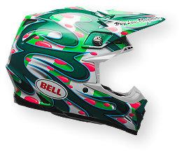 Bell Moto-9 Flex MC Replica Helmet, XS