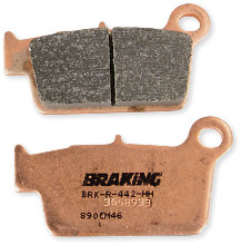 Braking Brakepads Sintered Rear