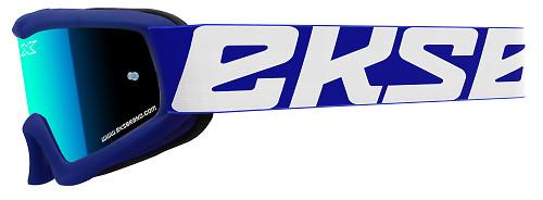 EKS X-Grom Youth Goggle - Blue