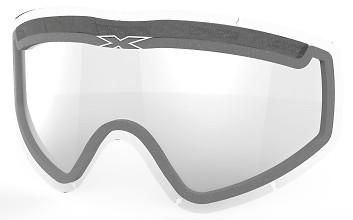EKS GO-X Dual Pane Vented Lens, Clear