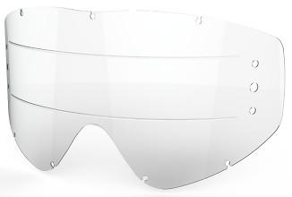 EKS EKS-S Zip Off Anti-Fog Lens, Clear