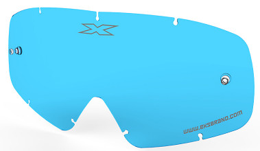 EKS X-GROM Anti-Fog Lens, Blue Tint