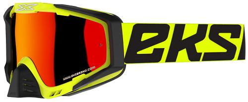 EKS EKS-S Goggle - Flo Safety Yellow/Black