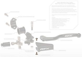RFX Pro Clutch Assem Repl Screw M4x8 2pcs For Boot