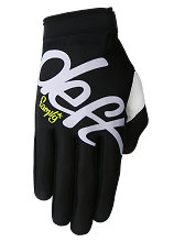 Deft Family Youth Eqvlnt Gloves - Solid Black