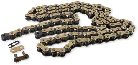 D.I.D Chain 520-DZ2 Gold/Black 120 Link