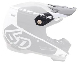6D ATR-2 Visor Shadow Matte White/Black