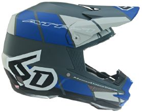 6D ATR-1 Shear Helmet, Blue/Grey/Black