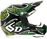 6D Maze Helmet, Green/Black, L