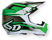 6D Rush Helmet - Green/Black