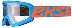 EKS Gox Flat Out Goggle - Cyan Blue