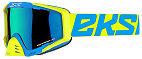 EKS EKS-S Goggle - Flo Yellow/Cyan/Fire Red
