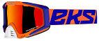 EKS EKS-S Goggle - Flo Orange/Blue/White