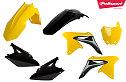 Polisport Plastic Kit Yellow RM01/Black