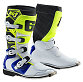 Gaerne SG-J Youth White/Blue/Yellow Fluo