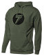Seven Dot Hoodie, Army Heather