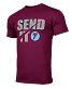 Seven Send-It Tee Maroon