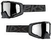EKS EKS-S Goggle - Black With Silver Mirror Lens