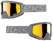 EKS EKS-S Goggle - Grey With Gold Mirror Lens