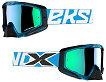 EKS EKS-S Goggle - Liquid Cyan With Blue Mirror