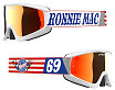 EKS Gox Ronnie Mac Goggle - With Red Mirror Lens